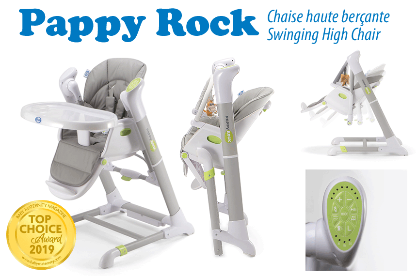 Pappy Rock High Chair