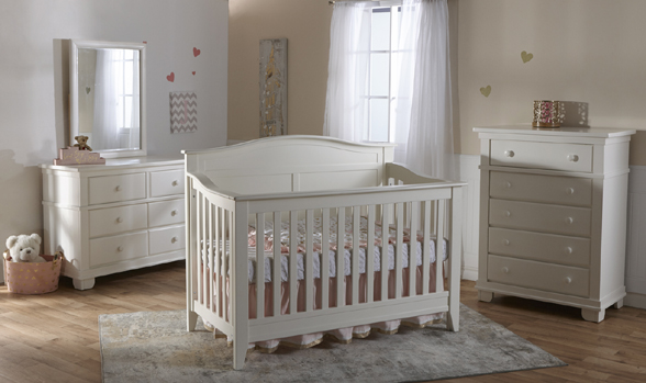 Introducing the <b>Napoli Forever Crib</b>, a great and affordable addition to our Torino Collection.