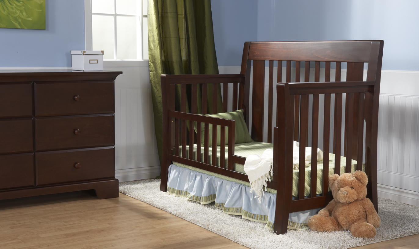 <b>Emilia Toddler Bed</b>, in Vintage Cherry (color not available).