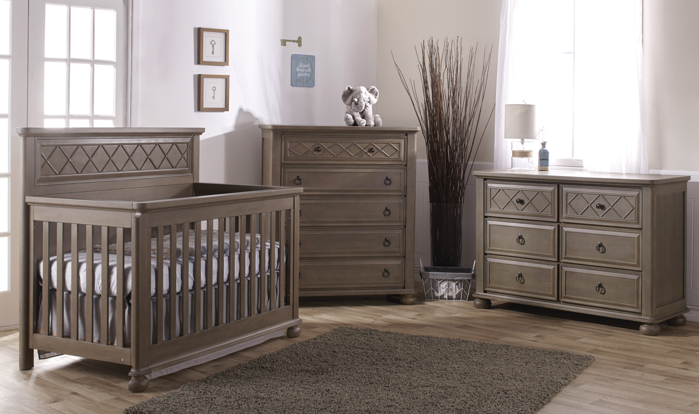 Now in stock:: our brand new <b>Vittoria</b> Convertible Crib. Another example of elegance and refined taste.
